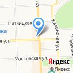 Натали на карте Кирова