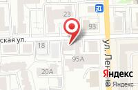 Схема проезда до компании Новатор в Кирове