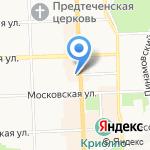 Полиграфыч на карте Кирова