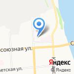 Кировская областная типография на карте Кирова