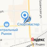 Акашево на карте Кирова