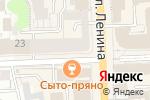 Схема проезда до компании Меховая мода в Кирове