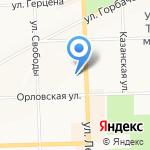 Медицинский центр И.М. Гаврина на карте Кирова