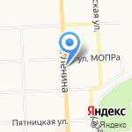 Роспечать на карте Кирова