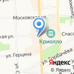 Desire на карте Кирова
