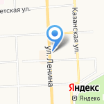 Мировые судьи Первомайского района на карте Кирова
