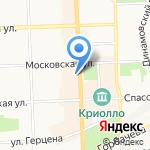 Кировская межрайонная природоохранная прокуратура на карте Кирова