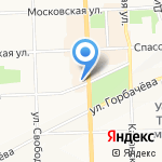 Эл Би на карте Кирова