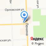 Планета здоровья на карте Кирова