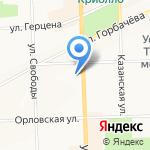 Натали Турс на карте Кирова