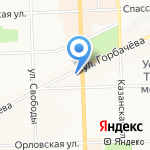 Грааль на карте Кирова