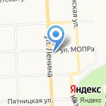 Фелиция на карте Кирова