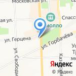 Профи-Нейл на карте Кирова