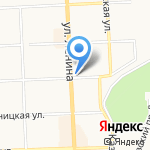 Дровосек на карте Кирова