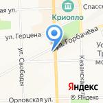 Николаевская на карте Кирова