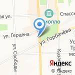 Мастерская по ремонту и изготовлению ключей на карте Кирова