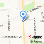 ДелФин на карте Кирова