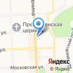 Кировсоцгарантия на карте Кирова