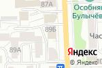 Схема проезда до компании Hanoi Lounge в Кирове