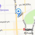 Автополка на карте Кирова