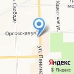 Дом мебели на карте Кирова