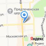 Адвокатский кабинет Гашкова М.Ю. на карте Кирова