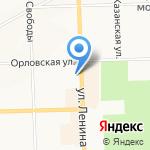 Городской клуб ветеранов на карте Кирова