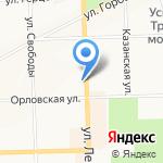 PUSHE на карте Кирова