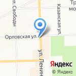 Зверьё моё на карте Кирова