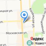 КАМЕННЫЙ ЛЕВ на карте Кирова