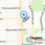 Триумф на карте Кирова