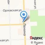 Ваниль на карте Кирова