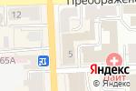 Схема проезда до компании Модный базар в Кирове
