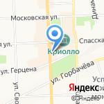 Ломбард Аванс на карте Кирова
