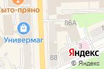 Схема проезда до компании ДНС в Кирове