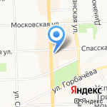 Кировский центр поддержки некоммерческих организаций на карте Кирова