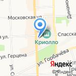Трейд-Модус на карте Кирова
