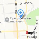 АСВ на карте Кирова