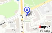 Схема проезда до компании ПТФ ВЯТКА-ИНСТРУМЕНТ в Кирове