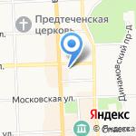 Кадастровая палата на карте Кирова