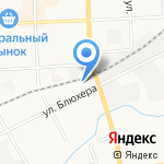 Зодчий на карте Кирова