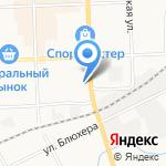 Золотой карась на карте Кирова