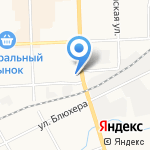 Мир кровли на карте Кирова