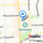 Конюшня на карте Кирова