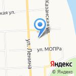Кировский экономико-правовой лицей на карте Кирова