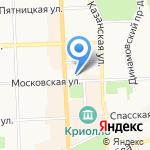 РОССИЯ на карте Кирова