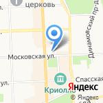 Lobby-bar на карте Кирова
