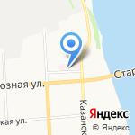 Реабилитационный центр для инвалидов молодого возраста на карте Кирова