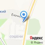 Барс на карте Кирова