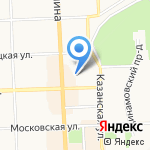 Военный комиссариат Кировской области на карте Кирова